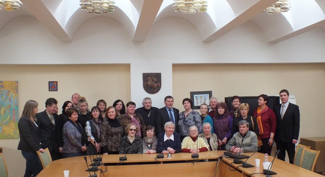 Seimo nario Valentino Stundžio iniciatyva   kovo 24 d.  grupė Videniškių  seniūnijos gyventojų lankėsi  Vilniuje.