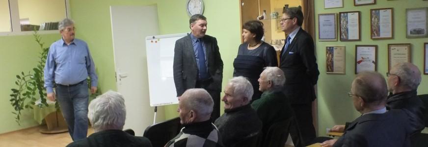 Valentino Stundžio ir Stasio Šedbaro susitikimai su molėtiškiais ir širvintiškiais