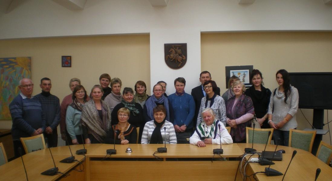 Valentino Stundžio kvietimu grupė Balninkų seniūnijos gyventojų lankėsi Seime